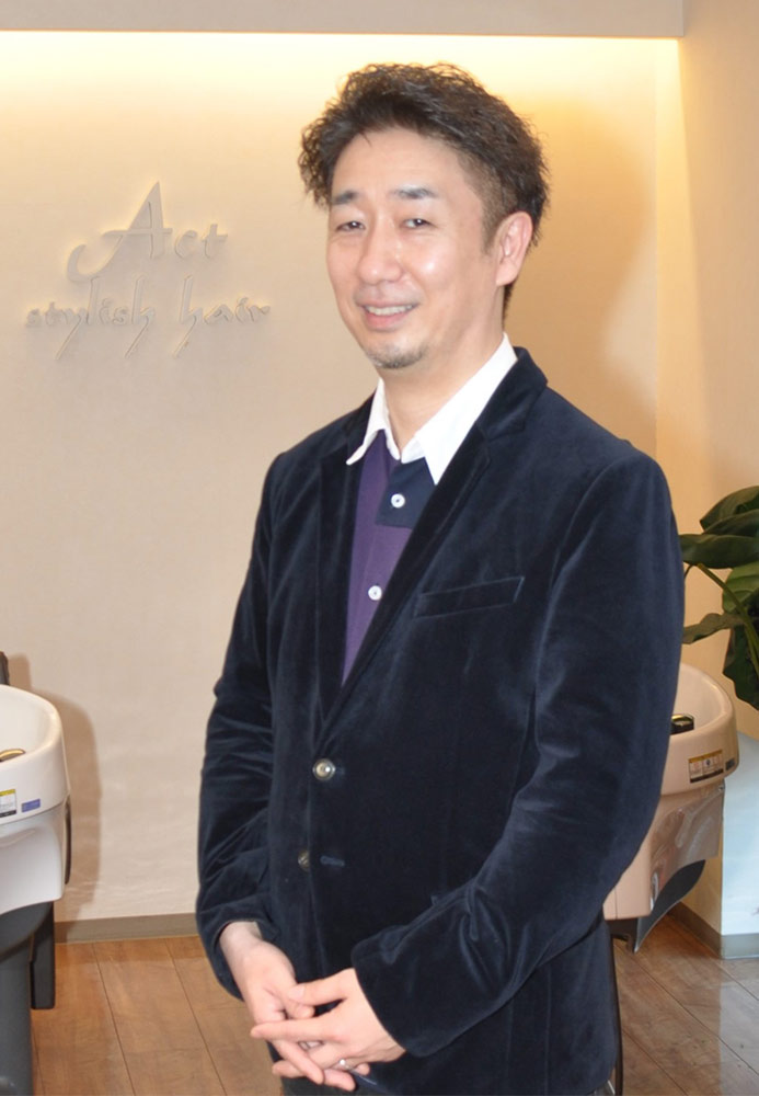 代表取締役 稲嶋 拓也